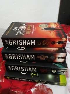 John Grisham Books(urgent clearance)