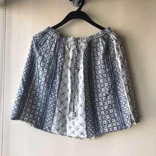 Hollister 花花Pattern短裙 Floral Skirt Dress