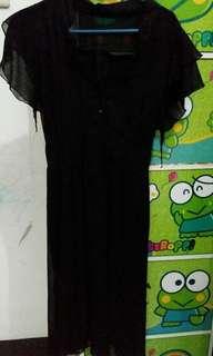 Dress hitam preloved