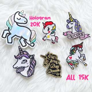 Embroidery Patches (Part 1)