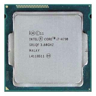 (二手)95%NEW Intel® Core i7-4790 LGA1150 CPU