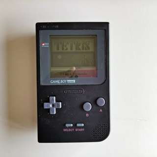 Nintendo Gameboy Pocket with Tetris Tape