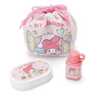 My Melody 細索袋+小盒+memo 紙+印章套裝