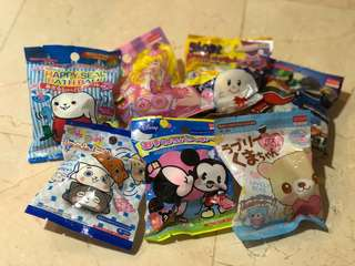 Bath bombs from Japan