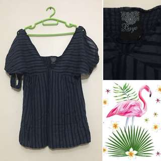 Bayo Blouse with Shoulder Cute