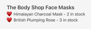 The Body Shop Face Masks