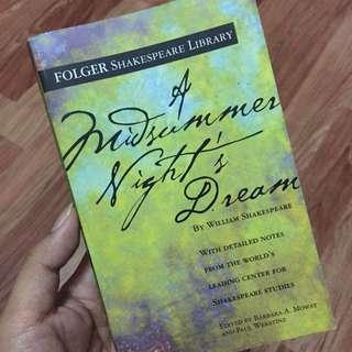 P170 A MIDSUMMER NIGHTS DREAM by William Shakespeare #bookbazaar