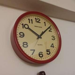 Vintage~Japan TOKYO CLOCK~Wall Clock~(Working)