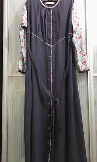 Jubah Dress Cardigan XL 44 ( Incl. Pos)