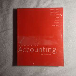 Principle Of Accounting 2nd Edition by Weygandt, Chalmers, Mitrione, & Etc.