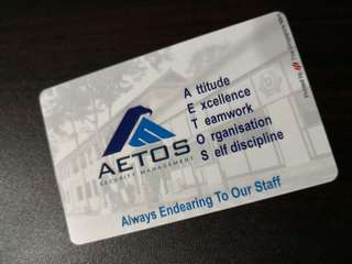 Ez link card Aetos