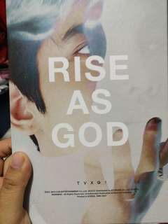 TVXQ RISE AS GOD
