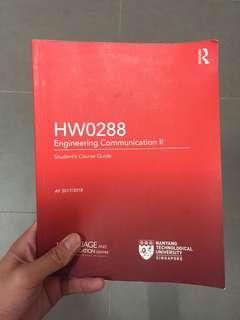 HW0288 Textbook