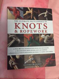 Knots and Ropework book