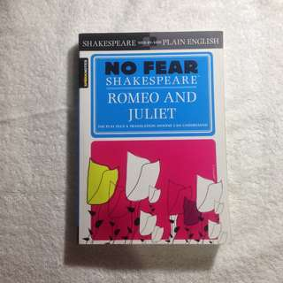 No Fear Shakespeare Romeo And Juliet (SparkNotes)