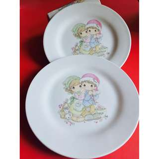 REPRICED (25% OFF) Precious Moments Plates - Set of 2