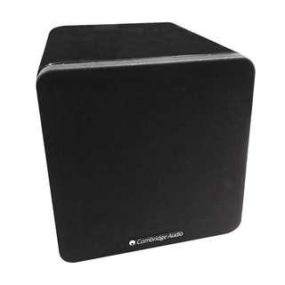 全新未開箱黑色 Cambridge Audio Minx  X200 Subwoofer