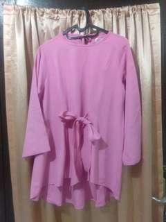 blouse pita pink
