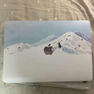 貓與雪山 Macbook Pro 13.3 保護殼