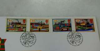 GB UK England Inland Waterways Stamps & Special Postmark #1