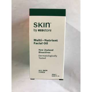 WTS Skin By Ecostore Multi-Nutrient Facial Oil