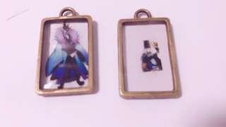 Onmyoji keychains bronze