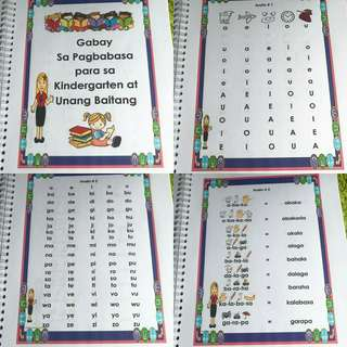 Customized Reading book for Kinder & Grade 1