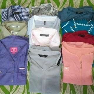 10 Pcs. Branded Tops Bundle B