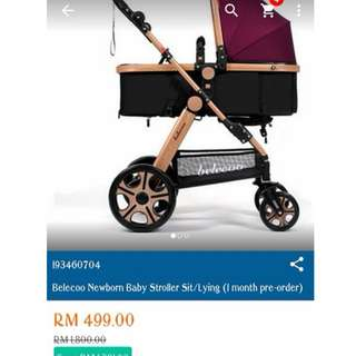 Sroller baby untuk dilepaskan