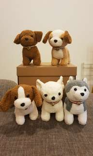 Brand new cute puppy dog Soft Toys