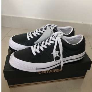 Converse One star Black Size 10 (UK 9)