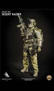 Green wolf gear desert raider