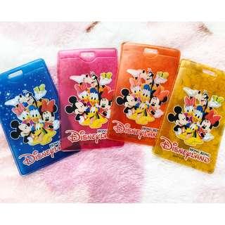 香港迪士尼 限量版非賣品人物卡套 八達通套 HKDL HKDisneyland Character Card case holder