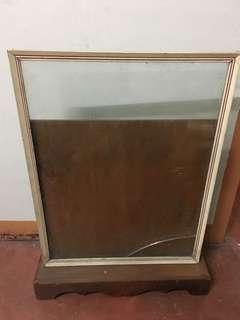 Poster / Menu Stand w/ glass