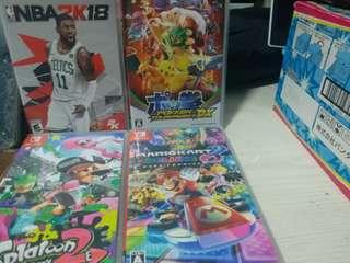 Switch game (300蚊一隻)