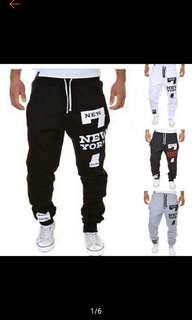 Men jogger dance sportwear baggy harem pants