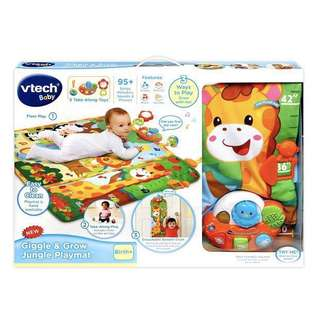 (In-Stock) VTech Giggle & Grow Jungle Playmat (Brand New)