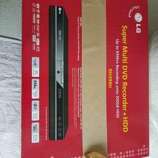 LG new DVD recorder