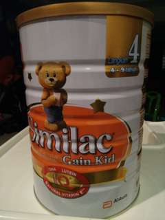 Similac Gain Kid (stage 4)