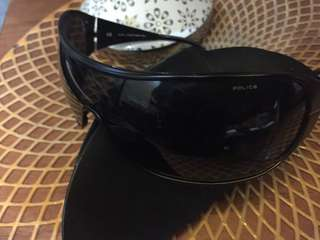 Authentic POLICE driving sunglasses