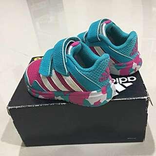 Preloved Authentic Adidas Girl Shoes (Eco Ortholite) Size: US 5K/ UK 4K Approximately 13cm.