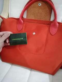Longchamp Neo tote poppy