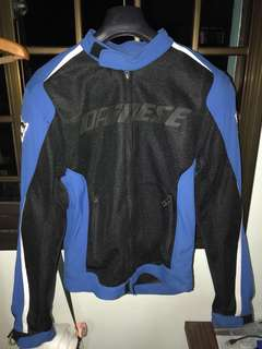 Dainese Hydra Flux D-Dry Jacket + back protector