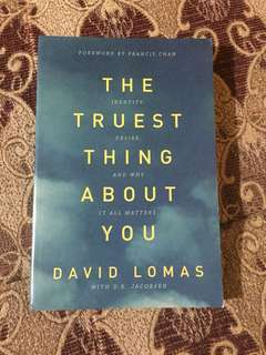 The Truest Thing Abou You by David Lomas