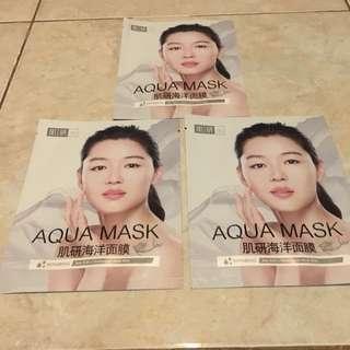 Hada Labo Aqua Mask Repair with Sea Salt & Hyaluronic Acid