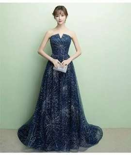 Evening Gown/ dinner long dress