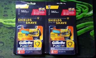 2x (4s) Gillette Fushion Proshield