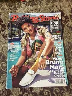 Bruno Mars Rolling Stone Magazine