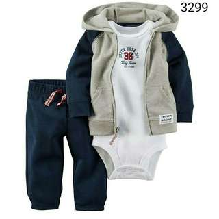 3in1 Carter's super cute div jacket
