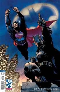 Batman #45 ( Jim Lee Virgin cover )